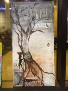 """Mixed Media piece for 14/48 Projects. Based on the prompt """"Last Stand""""."""