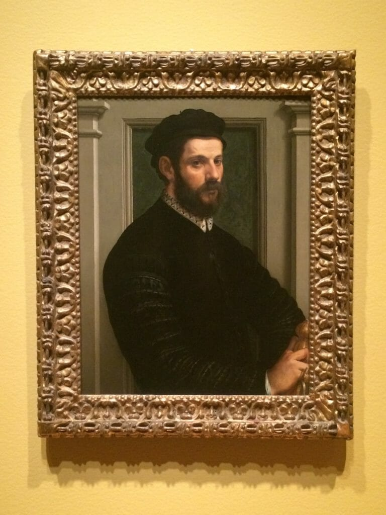 the radiance of darkness with a self-portrait by Francesco Salviati c 1545